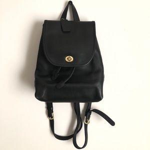 Vintage Black Vintage Coach Backpack